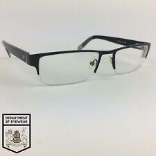 FOSSIL eyeglasses BLACK HALF RIMLESS glasses frame MOD: FOS6014 KGG