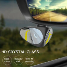 Car Blind Spot Mirror Wide Angle Mirror Adjustable  Rotation Rearview Mirror