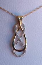 White Not Enhanced Yellow Gold Fine Necklaces & Pendants