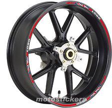 Adesivi cerchi Triumph Street Triple old English flag - stickers wheels - moto