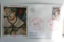 ENVELOPPE PREMIER JOUR SOIE 1979 CROIX-ROUGE