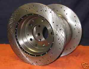 Porsche 911 Carrera 3.2 Sport Rotors Discs Rear 84-89