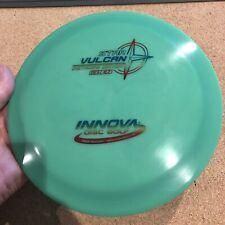 Rare Green Champy Star Vulcan 174.5 g Innova Disc Golf New