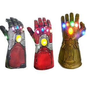 Endgame Tony Stark Infinity Gloves Iron Man Gauntlet Thanos Cosplay