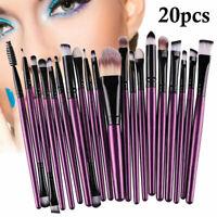 20Pcs Makeup Brushes Kit Set Powder Foundation Eyeshadow Eyeliner Lip Tools -Hot