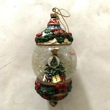 vintage christmas ornament Christmas Tree Snow Globe
