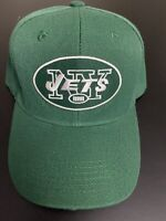 NEW YORK JETS NFL EMBROIDERED HELMET LOGO HAT CAP ADJUSTABLE CURVED BILL NEW