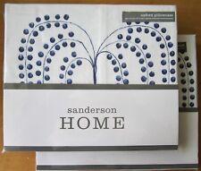 SANDERSON Oxford Pillowcase PAIR New WILLOW TREE BLUE
