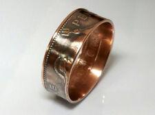 Münzring UK one Penny 1962 GR 60 / 9,0 mm  Coin Ring Großbritannien vintage