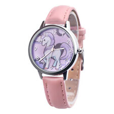 Wrist Watch Girl Teens Kids Alloy Case Leather Band Analog Quartz  Gifts Hot New