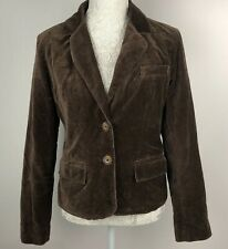 American Eagle Jacket Brown M 12 Coat Blazer Ladies Button Up Boho Vintage retro