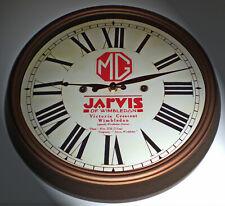 MG Vintage Style Car Dealers Clock, Jarvis, Wimbledon London 1920-30's