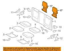 Seats for toyota tacoma ebay toyota oem 2016 tacoma rear seat headrest head rest 7194004130b2 fits toyota tacoma fandeluxe Choice Image
