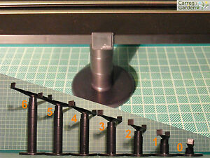 Artin 1:43 Road Racing Bridge Support Pillar Choice of Size !TRACK NOT INCLUDED!