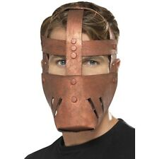 Men's Roman Warrior Bronze EVA Fancy Dress Face Mask Stag Gladiator Film Fighter