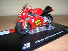 Ixo Altaya aprilia rsw125 mirko giansanti 2004, 1:24 #6 motocicleta Motorbike moto