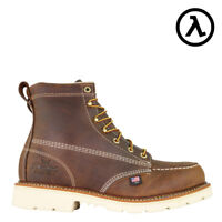 """THOROGOOD AMERICAN HERITAGE MOC TOE 6"""" ST EH WORK BOOTS 804-4375 - ALL SIZES"""