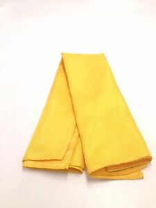 $125 Tommy Hilfiger Men`S Solid Yellow Dress Handkerchief Casual Pocket Square