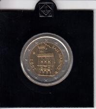San Marino 2 Euro 2003 Kursmünze stempelglanz - in Münzrähmchen