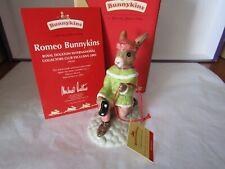ROMEO BUNNYKINS DB284 2003 COLLECTORS CLUB  ROYAL DOULTON BOX & CERTIFICATE
