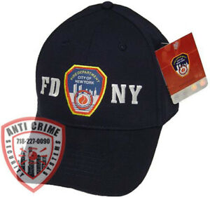 FDNY Hat Baseball Cap Licensed By The New York City Fire Department