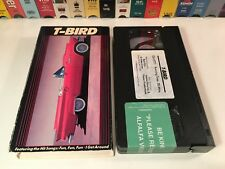 * T-Bird Automobile History Documentary VHS 1988 Ford Thunderbird Car Auto 80's