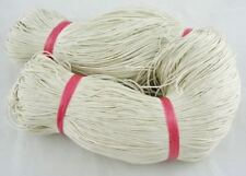 BEIGE NATURAL WAXED COTTON CORD 10m x 1mm Shamballa Macrame Jewellery Making