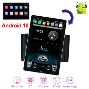 10.1'' Android 10.1 Rotatable Touch Screen Car Stereo Radio GPS Wifi Double 2DIN