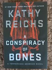 CONSPIRACY OF BONES, A - Kathy Reichs (Hardcover,  2020, Free Postage)