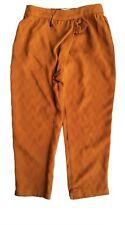 Zara Girls Pantalones informales de Jacquard ámbar Puño Bottoms Pijamas Tassle 8 y