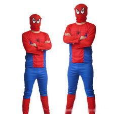 Spiderman Superhero Adult Mens Costume Fancy Dress up Party