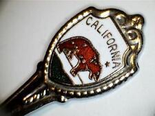 """Vtg California State Grizzly Bear Collectible Souvenir Spoon 3-1/2"""""""