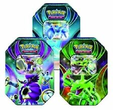 Pokemon 2015 EX Powers Beyond Booster Tins Set of 3 (Rayquaza, Hoopa, Latios)