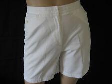 Liz Claiborne Lizsport White  Bermuda Walking Shorts Ladies Size 10
