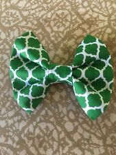 Dog Bow Tie SIZE SMALL Cute Puppy Accessories Attachable Velcro Bowtie