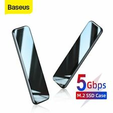 "Baseus Hard Drive M.2 SSD SATA TO USB 3.0 1.8"" External Enclosure Storage Case"
