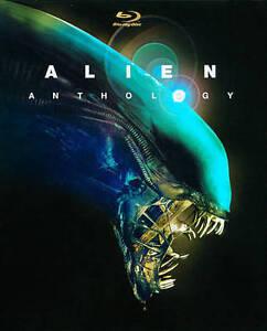 Alien Anthology (Blu-ray Disc, 2010, 6-Disc Set) NEW Sealed, Free Shipping