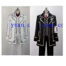 Vampire Knight uniform Cosplay Costume Kiryuu Zero DAY White/black-Halloween