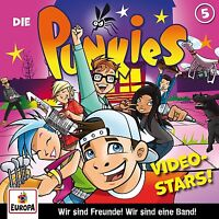 DIE PUNKIES - 005: VIDEO STARS   CD NEU