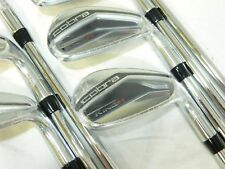 New Cobra King F7 One Length 5-GW Iron Set F-7 OL Regular R-Flex Steel Irons