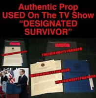 "PRES. KIRKMAN ""DESIGNATED SURVIVOR"" ACCEPT SPEECH PROP Ep 310 Kiefer Sutherland"