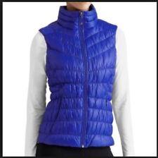 NWT Athleta Downalicious Deluxe Vest, Cobalt Blue Size XS