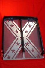 YAMAHA BANSHEE 350 ATV  #8 STAINLESS STEEL FLAG GRILL MIRRORED FINISH
