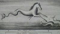 "Rare gravure XVIIIème ""Raccolta di Pitture d'Ercolano"" estampe Herculanum"