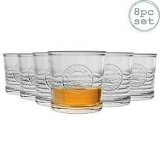 Whisky Spirit Glasses Old Fashioned Glass Whiskey Tumblers, 300ml - Set of 8