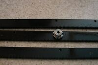 "CNC Plasma table  Mech Rack & Gear 72""  Rack (3x24""pcs) +1/4"" 20T Pinion Gear"