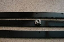 "CNC Plasma table  Mech Rack & Gear 72""  Rack (3x24""pcs) +1/4"" 20T Pinion Gear"