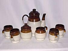 Vintage Gailstyn-Sutton Stoneware Tea Set Tea Pot Cream & Sugar Cups