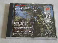 MARLBORO MUSIC FESTIVAL ♫ Klavierkonzerte 10 & 12, Pianotrio ♫ Serkin Laredo TOP