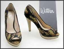 Wittner Leather Slim Heels for Women